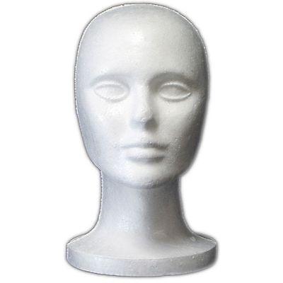 Less Than Perfect Mn-408-ltp 1 Pc Female Styrofoam Mannequin Head