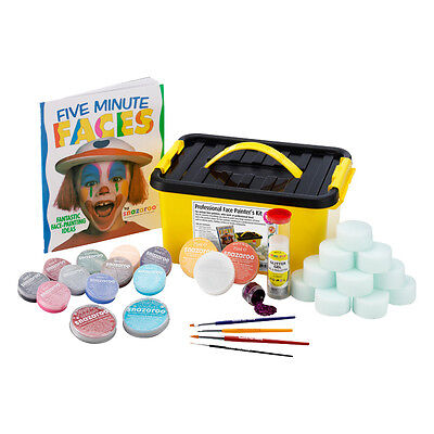 SNAZAROO PROFESSIONAL FACE PAINTERS FACE PAINTING KIT - Halloween Face Painters