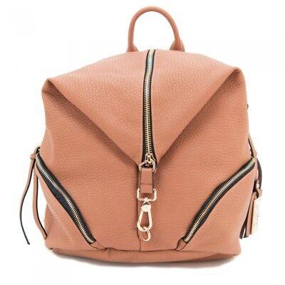 Concealed Carry BackPack Purse Gun CAMELEON Vegan Leather Handbag Holster Cognac