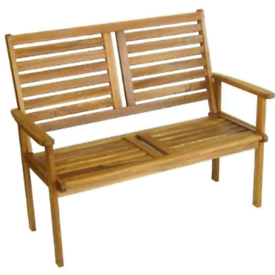 Wooden garden bench great value at only £99