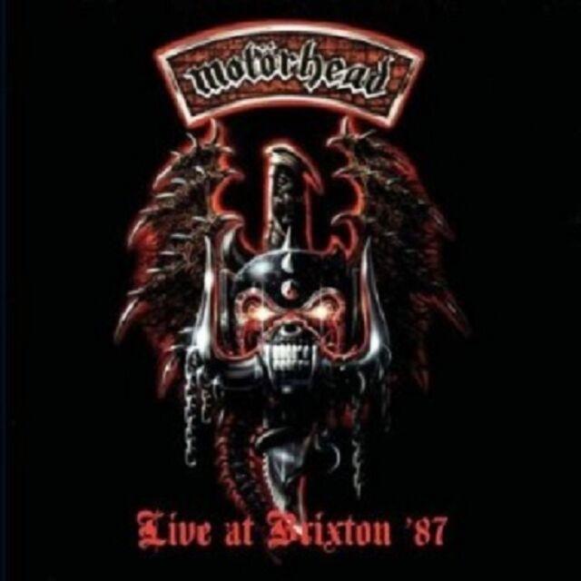 MOTÖRHEAD - LIVE AT BRIXTON '87  CD 12 TRACKS HARD ROCK/HEAVY METAL CONCERT NEU