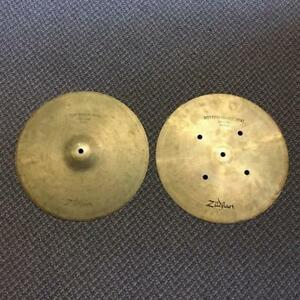 "Sabian Quick Beat cymbales de hi-hats 14"" - used-usagées"