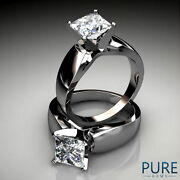 1 Ct Princess Cut Diamond Ring