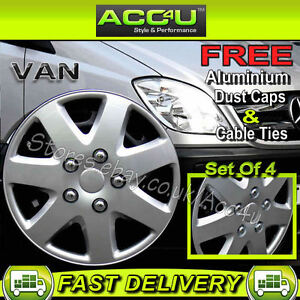 Mercedes benz sprinter van 16 silver 7 spoke curved wheel for Mercedes benz sprinter wheel covers