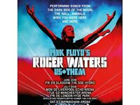Roger Waters SSE Hydro 2 x Platinum Tickets Saturday 30 June