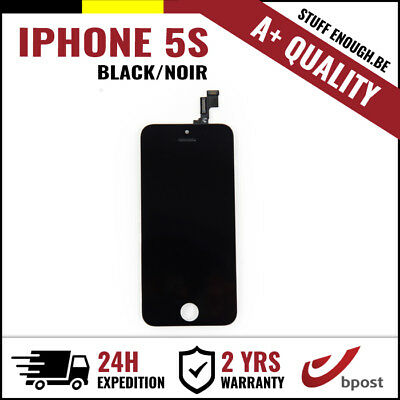 A+ LCD TOUCH SCREEN VITRE TACTILE DISPLAY/SCHERM/ÉCRAN BLACK NOIR FOR IPHONE 5S