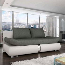 BRAND NEW Sofa bed with reclining armrests