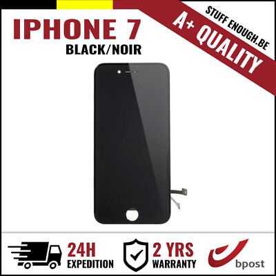 A+ LCD TOUCH SCREEN VITRE TACTILE DISPLAY SCHERM ÉCRAN BLACK NOIR FOR IPHONE 7