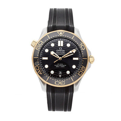 Omega Seamaster Diver 300m Steel Gold Auto 42mm Mens Watch 210.22.42.20.01.001