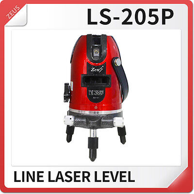 Ls-205p Laser Level New 4 Vertical 1 Horizontal Line Surveying Device
