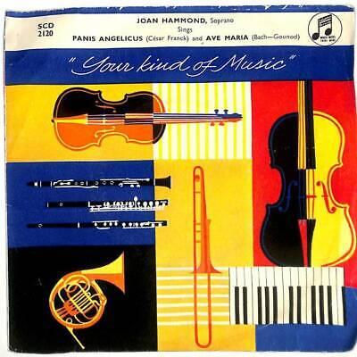 """Joan Hammond - Ave Maria - 7"""" Vinyl Record"""