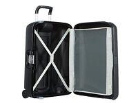Samsonite Termo Young Large New Hardshell Black Wheeled Suitcase with TSA lock for USA travel