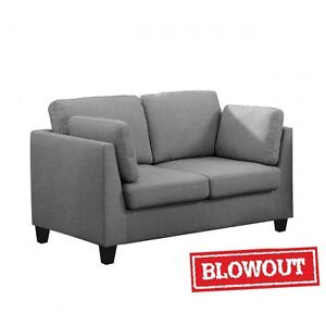 NEW! Modern Love Seat - Available in Grey or Dark Brown