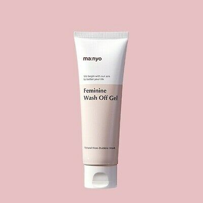 Manyo Feminine Wash Off Gel 80ml Vaginal Hygiene Anti-inflammatory K-Beauty