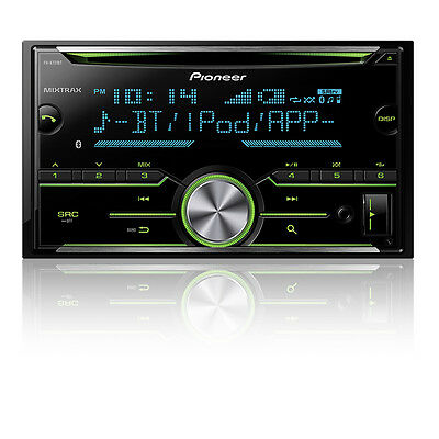 Pioneer FH-X731BT Double DIN CD Receiver w/ Bluetooth New FHX731BT