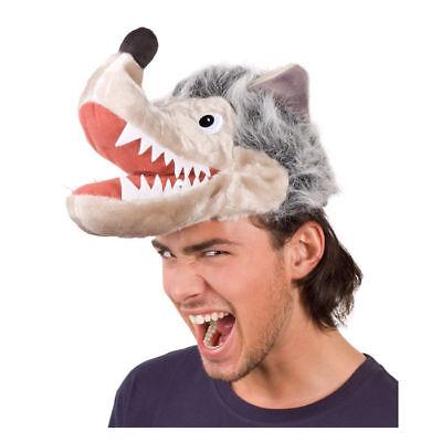 Wolfshut Kopfbedeckung, Karnevalskostüm Zubehör Wolfskostüm - Wolf Kopf Kostüm