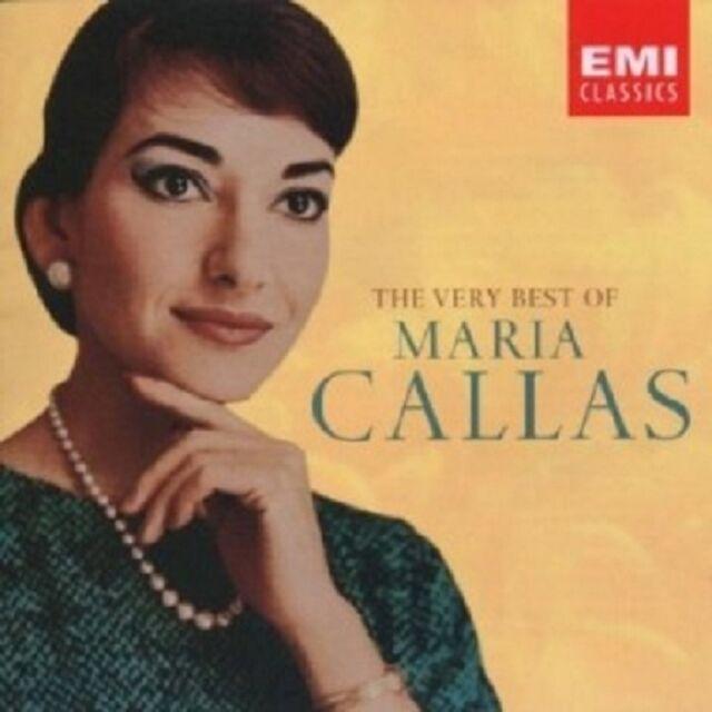 MARIA CALLAS - BEST OF SINGERS,THE VERY 2 CD 31 TRACKS SOPRAN OPER NEU
