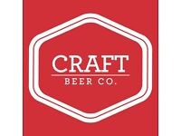 Assistant Manager needed at The Craft Beer Co. Clerkenwell