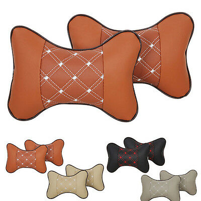 2015 New Warm Car Headrest Pillow Bone Car Care Cervical Pillow Car Seat Pillow