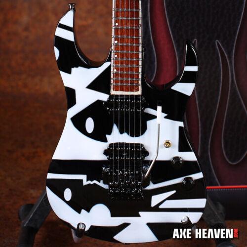 John Petrucci Dream Theater Collectible B&W Picasso Replica Mini Guitar