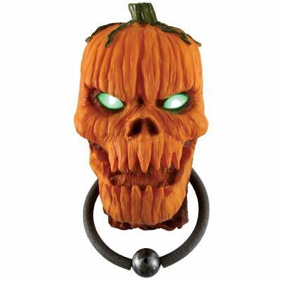 Fun World Animated Pumpkin Door Knocker Brand New in Box