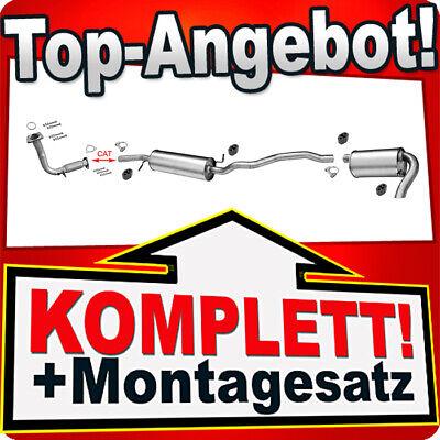 Auspuffanlage Auspuff ab Kat VW Sharan 1.9TDI