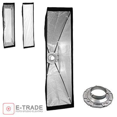 Striplight Softbox mit 2 Diffusoren // 30x120cm // für Bowens Anschluss // F&V Strip Light Softbox
