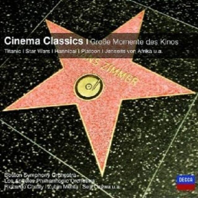 MAUCERI/MEHTA/WILLIAMS/+ - CINEMA CLASSICS-GROSSE MOMENTE DES KINOS (CC)  CD NEU