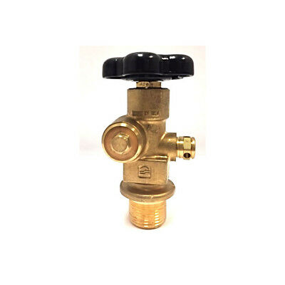 Sherwood Residual Pressure Valve For Carbon Dioxide Cga 320 - 1.125 Unf Inlet