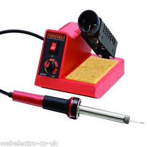 28020 Fahrenheit Analogue Soldering Station (150 - 480°C) 60 W with Silicon Wire