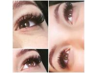 Eyelash extension 1D, 2D, 3D, 6D and Hollywood effect and brow styling