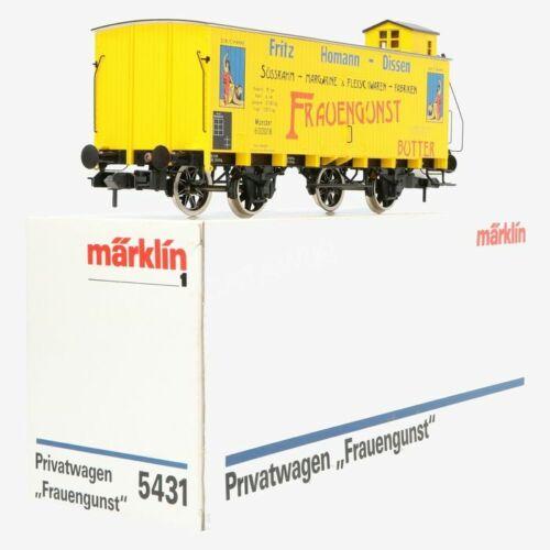 Märklin 5431 Gauge 1 Freight Car Frauengunst Private New Condition Original Box