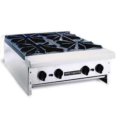 American Range Arhp-24-4 Counter Unit 24 Inch 4-burner Manual Control Hotplate