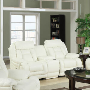 Contemporary LEATHER RECLINING Chair, Loveseat, or Sofa