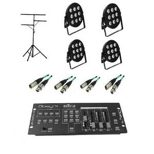 **MEGA SPECIAL PACKAGE**  MICROH DJ LED BLADE P9-QUAD PACKAGE