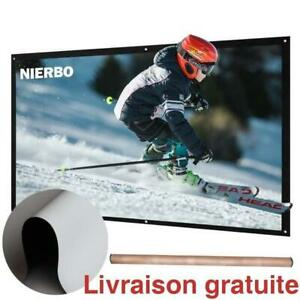 Ecran de projection / 72 inch Projector Screen for Outdoor Indoor