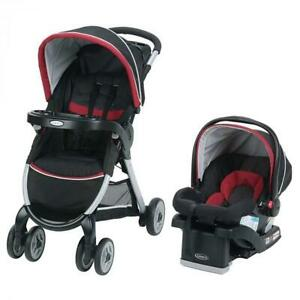 Graco - Système Voyage Fast Action Fold Click Connect 30 -Weave