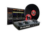 M-Audio Torq Concetiv // Vinyl DJ Controller/Audio Interface // Serato/Traktor