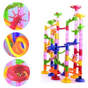 Deluxe Marble Race / Marble Run Play Set 105 Pieces Kids Toys