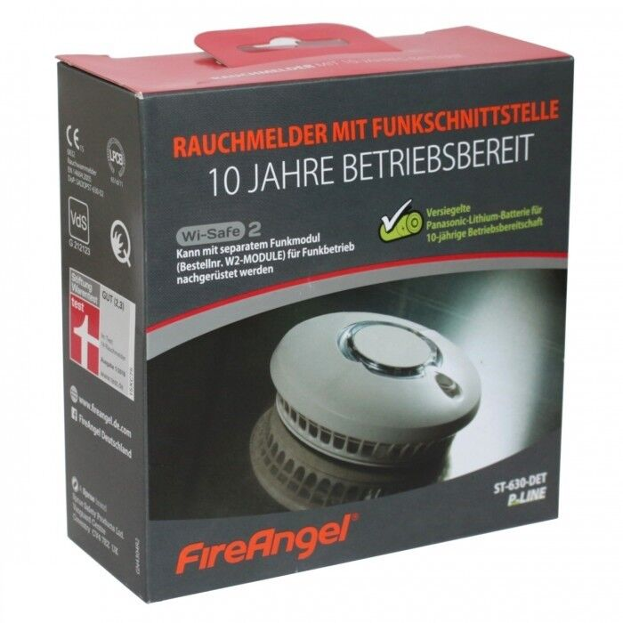 FireAngel  Rauchmelder+Funkschnittstelle (St-630 DET) Neu OVP bis 09/2028