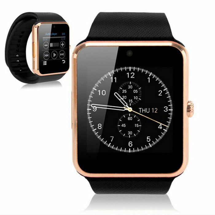 Touchscreen Smart Watch Camera Unlocked Cell Phone with Texting Sim Card Slot