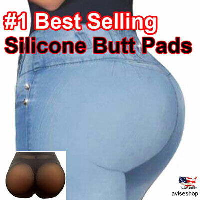 BIG Silicone Butt Pads buttock Enhancer body Shaper Brief  Panty Tummy Control Tummy Shaper Brief