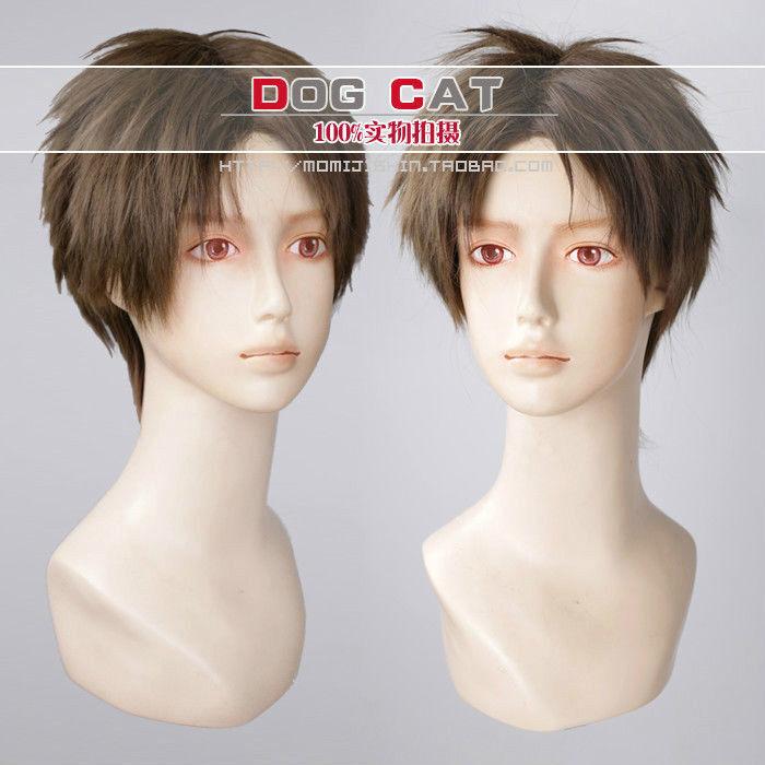 Resident Evil 4 In Leon Scott Kennedy Game Cosplay Wig Ebay