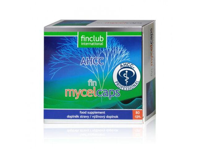 Fin Mycelcaps 80 kaps.- Finclub - wsparcie ukladu odpornościowego