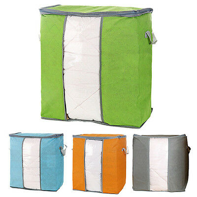 Foldable Home Closet Storage Bag Organizer Box Anti-bacterial Clothes Finishing