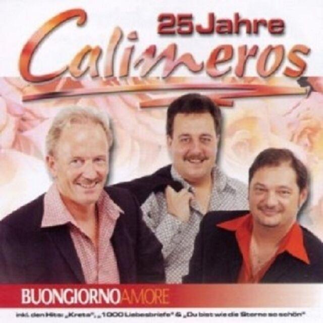 CALIMEROS - BUONGIORNO AMORE/25 JAHRE  CD  15 TRACKS SCHLAGER / PARTY  NEU