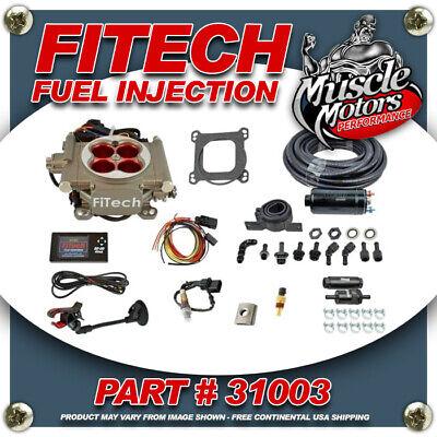 FiTech Go Street EFI Fuel Injection System Master Kit Inline Fuel Pump 31003 EC