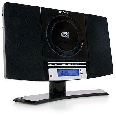 Mini Stereo Anlage Musik CD Player Wecker MP3 Fernbedienung Radio Denver MC-5220