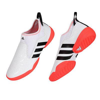 как выглядит Обувь для боевых искусств Adidas Taekwondo shoes/Footwear/Indoor shoes/martial arts shoes/ADI-BRAS16/White фото