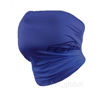 [FESTON] Cool UV Sun Protection Mask Neck Headband Banada Bike Cycling (Blue)